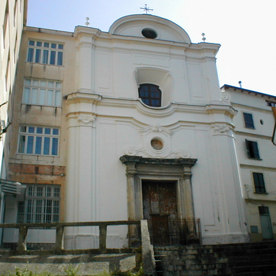 Facciata chiesa Santa Maria del SS. Rosario prima del restauro
