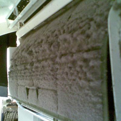 Filtri split sporchi