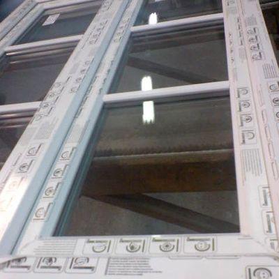 finestra 2 ante pvc modalita 3 vetri inglesina esterna