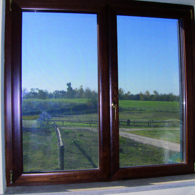 Finestra in alluminio legno a taglio termico