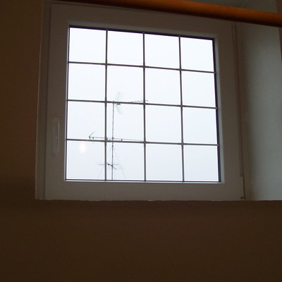 Finestra PVC con INGLESINA interno vetro