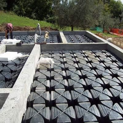 Fondazioni con vespaio areato