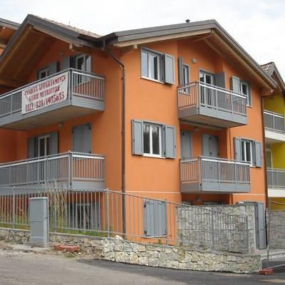 Palazzina realizzata in Trentino con 13 appartamenti