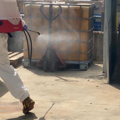 Disinfezione con Atomizzatore