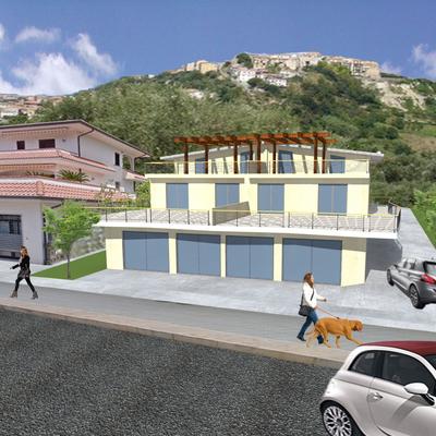Realizzazione fabbricato per civile abitazione e locale commerciale