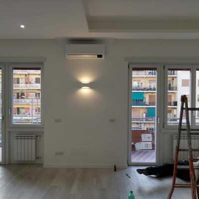 Ristrutturazione di un appartamento a roma in zona San paolo