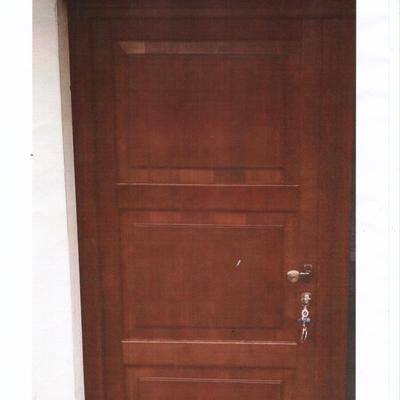 portoncino ingresso in legno