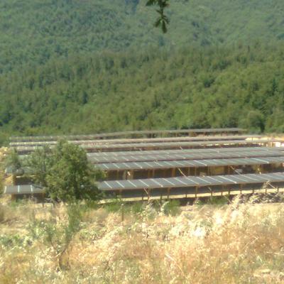 fotovoltaico su palafitta