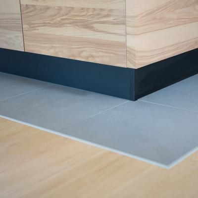 Il pavimento della zona cucina