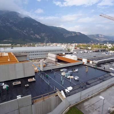General Membrane e l'edilizia sostenibile: il caso San Bàpolis a Trento