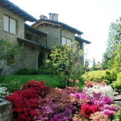 Giardino villa in Gorla M.