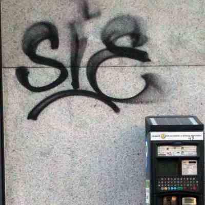 graffito corso Buenos Aires a Milano