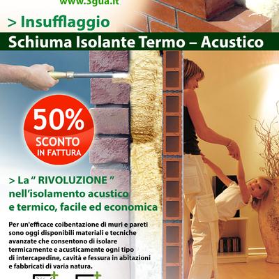 Schiuma isolante  termo acustica