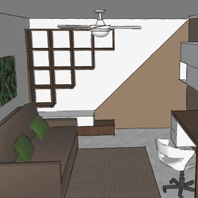 studio/camera degli ospiti