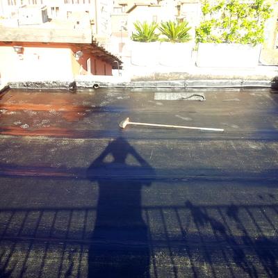 Guaina terrazzo calpestabile