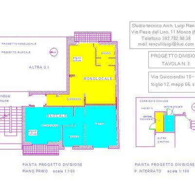 Frazionamento immobiliare in Seregno (MB)