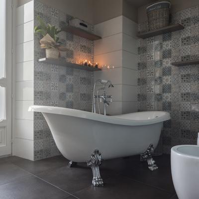 Una vasca per i momenti di relax