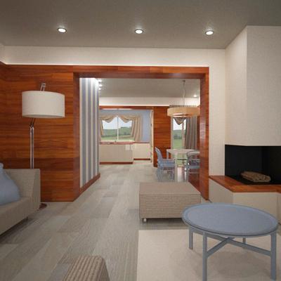 Design d'interni per lussuoso appartamento a Empoli (FI)