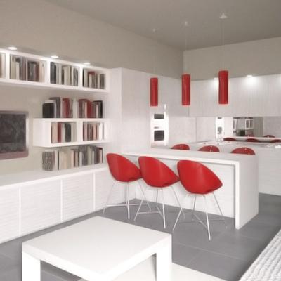 Design d'interni per appartamento 45mq