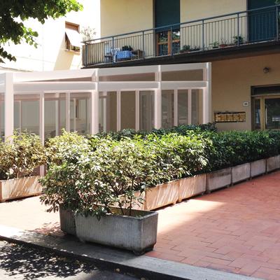 Veranda per fondo commerciale a San Giovanni Valdarno (AR)
