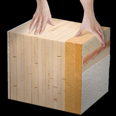 """sistema MHM - il nostro """"muro di legno"""""""