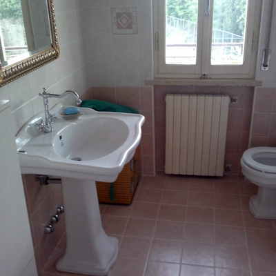 Il nuovo bagno, nello stile ricercato dal cliente