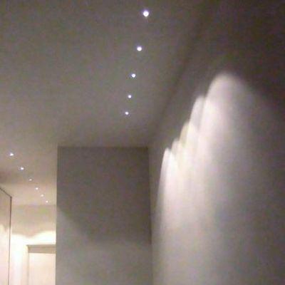 Illuminazione corridoio con micro-spot led