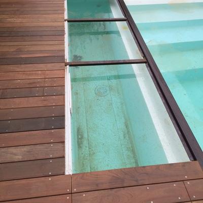 Foto piscina legno