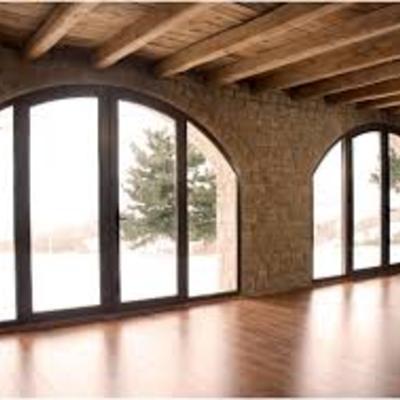 Porte finestre in pvc centinate