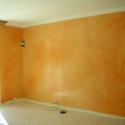 imbiancatura piu' decorazione parete