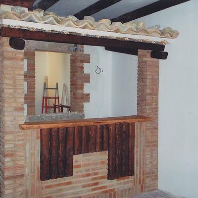 parete con mattoni