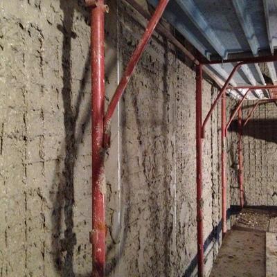 rinforzi strutturali su muri portanti