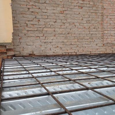 costruzione solaio con  lastre grecate HI-BOND