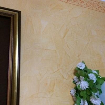 Applicazione stucco con grassello di calce