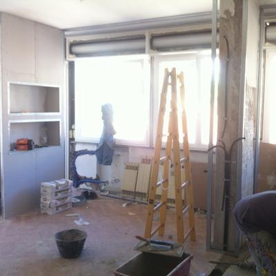 Cantiere ristrutturazione appartamento