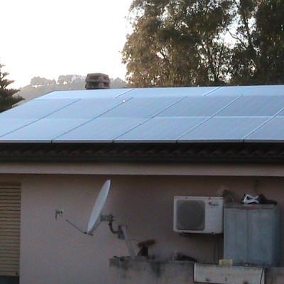Impianto fotovoltaico 6 KWP ad Iglesias