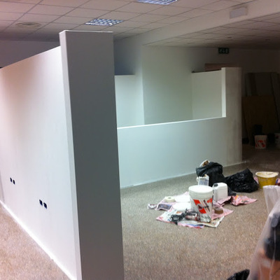 Tinteggiatura uffici