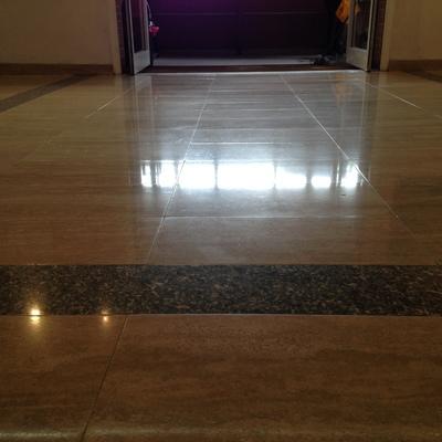 Levigatura pavimento in marmo