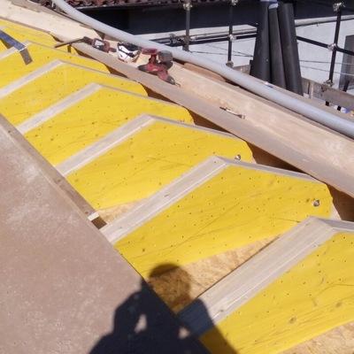 insufflaggio cassa vuota struttura tetto in legno