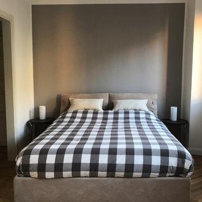 La semplicità e la soprietà per la camera da letto.