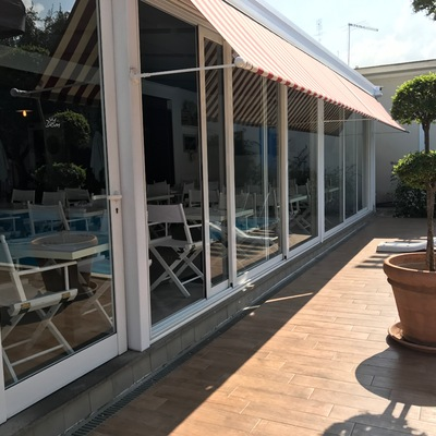 Estensione ristorante villa Dom