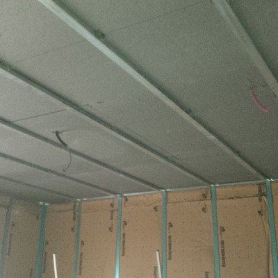 Contro-pareti e contro-soffitti in cartongesso