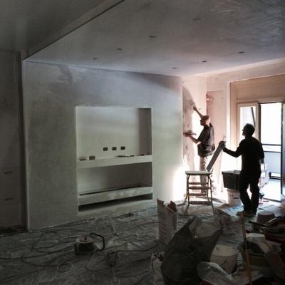 preparazione parete