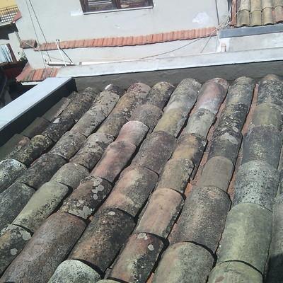 tetto esterno palazzo antico - ripristino