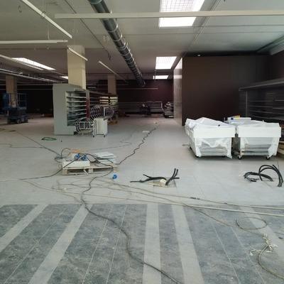 Cartongesso e controsoffitto supermercato a Bologna