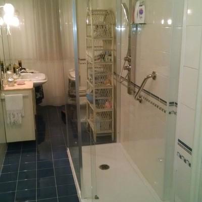 Spazio doccia Open Space sostituzione da vasca a doccia