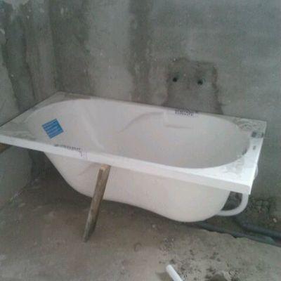 Messa in opera vasca da bagno