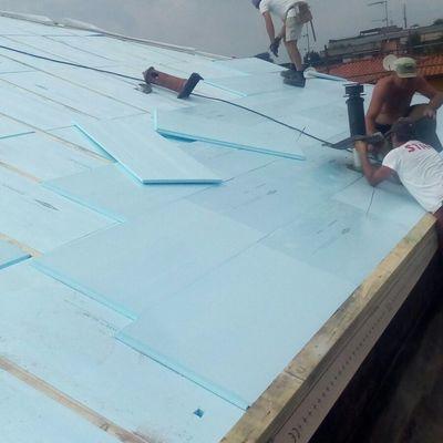 coimentazione e ventilazione vecchio tetto da 300 mq