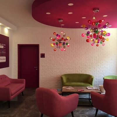 Riqualificazione uffici - sala attesa clienti