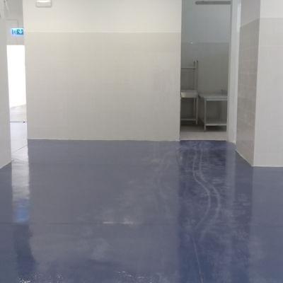 Trattamento antiusura e pitturazione pavimentazione - dopo